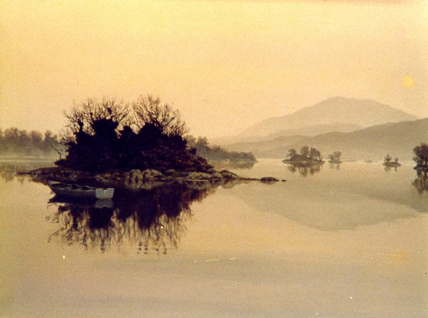 Kenmare Bay Morning 1988 Oil on Panel 18 x 24